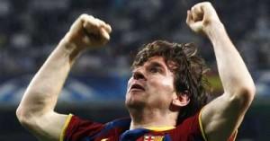 Leo Messi Celebrating