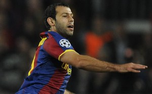 Mascherano feels valued at Barca