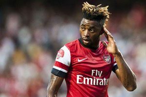 alex song from arsenal
