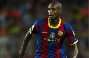 eric abidal from Barcelona