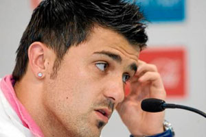 david villa patience running out