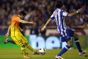 deportivo vs fc barcelona 2012