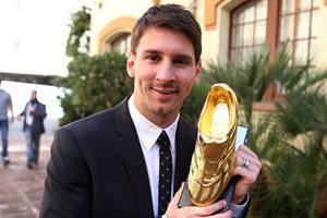 golden boot 2012 messi