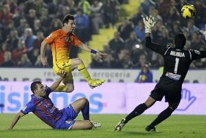 levante vs barcelona 2012