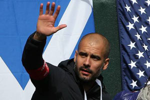 pep guardiola could take over at man utd