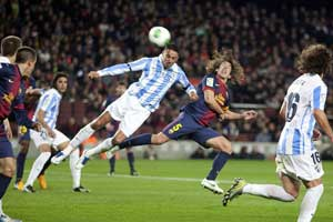 barcelona vs malaga copa del rey