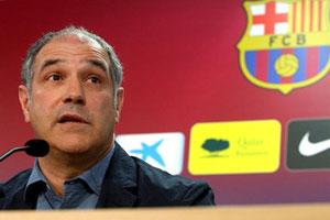 Barca Sporting Director Andoni Zubizarreta