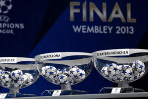 Champions League Draw 2013