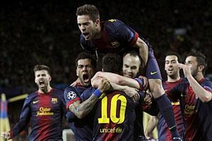 FC Barcelona vs A C Milan 2013