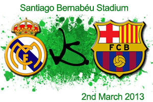 madrid vs barcelona 2013