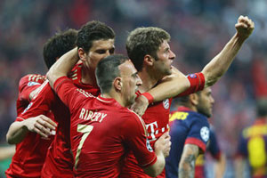 Bayern v Barcelona