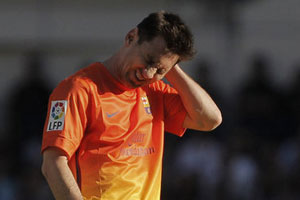 Leo Messi injured against Atletico Madrid