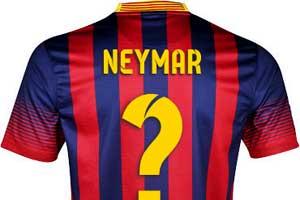neymar shirt number