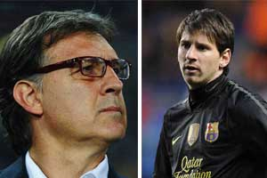 martino and messi