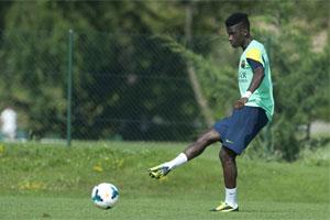 Bagnack in training