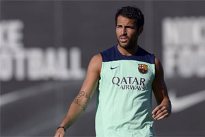 fabregas training