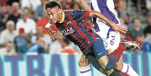 neymar diving claims