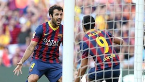 Barcelona vs Valladolid 2013