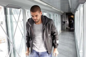 valdes injured