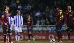 Real Sociedad vs Barcelona 2014