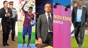 FC Barcelona troubles