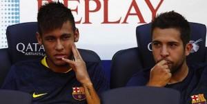neymar and alba