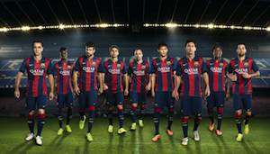 new barcelona kit