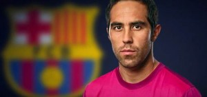 claudio bravo signs for Barcelona