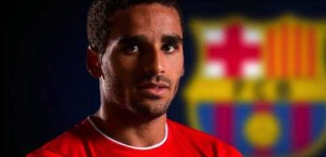 Douglas Pereira signs for Barcelona