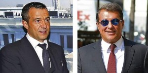 jorge mendes and joan laporta