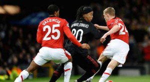 Ronaldinho and Man Utd