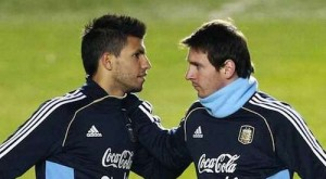 aguero and messi