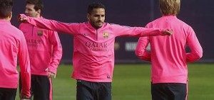 douglas in training