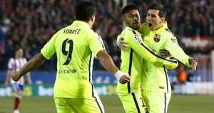 Atletico vs Barcelona copa del rey 2015