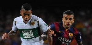 Barcelona vs Elche 2015