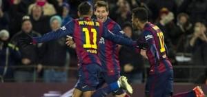 barcelona vs villareal 2015
