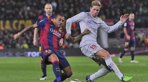 dani alves and fernando torres