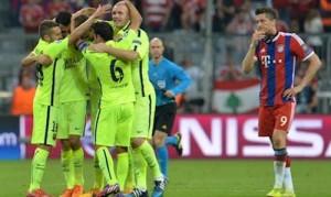 bayern vs barcelona 2015