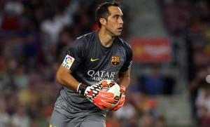 Claudio Bravo injury and who replaces Pedro
